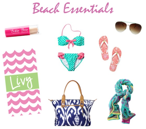 beach essentials 2013